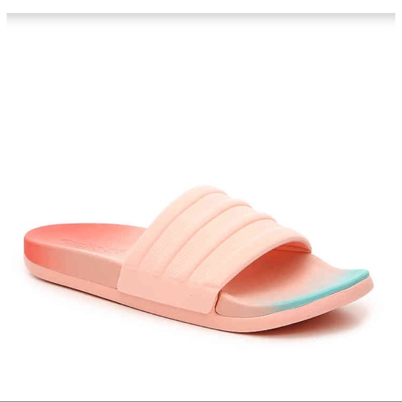 dbe13938bdd3 adidas Shoes - ADIDAS ADILETTE OMBRÉ FADE CLOUDFOAM SLIDES